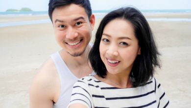 男性と女性が友達になれるかどうかを答えるのに役立つ5つの質問のロゴタイプ
