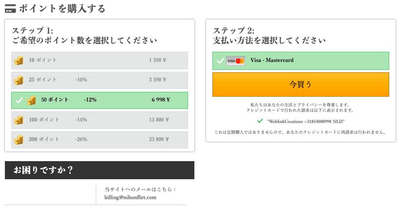 NihonFlirtのポイント